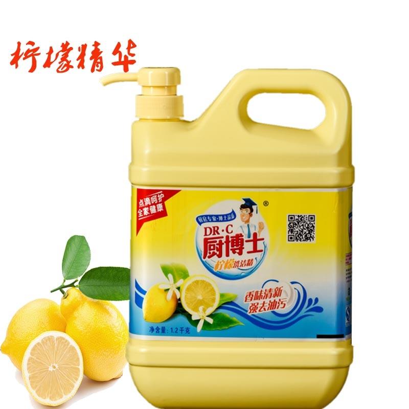 甘肃厨博士柠檬洗洁精
