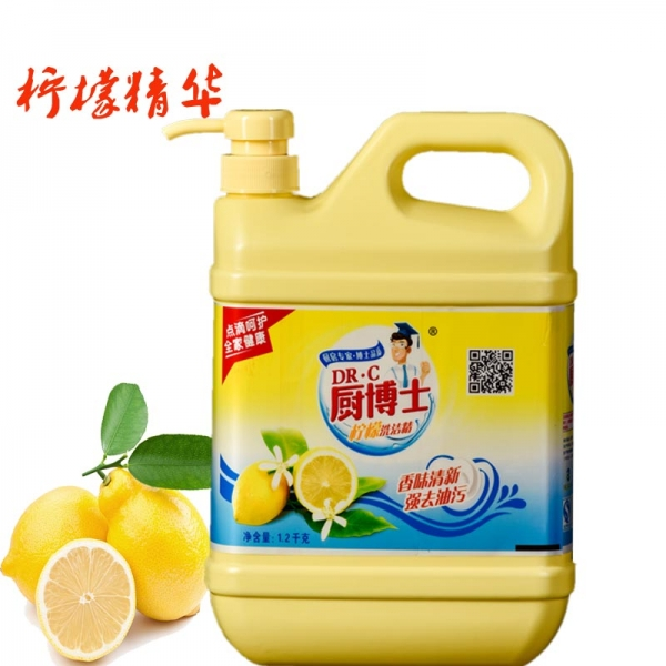 厨博士柠檬洗洁精
